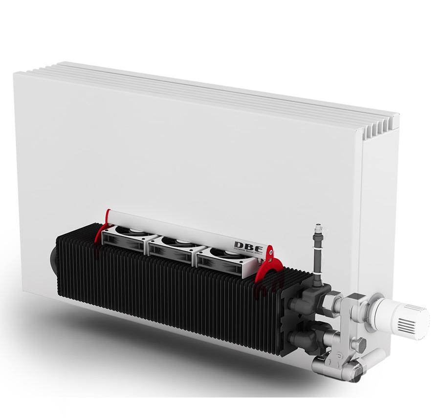 Jaga diseño de calefacción eficiente