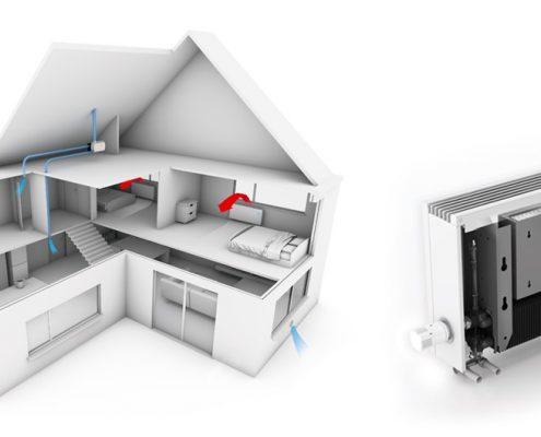 ventilación y ahorro hogar