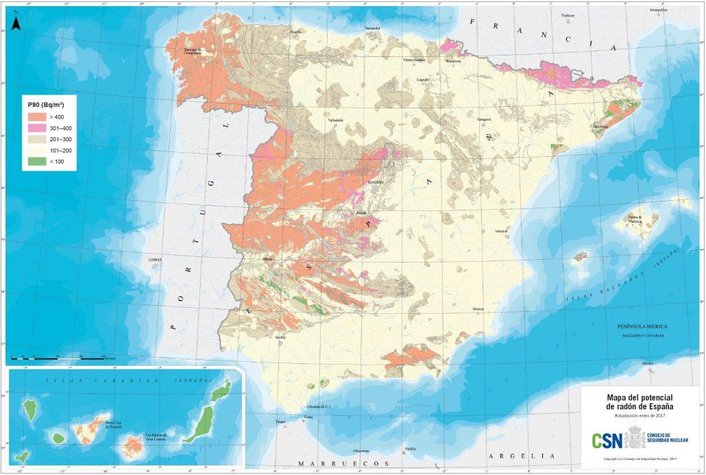 Jaga-Mapa-gas-Radón