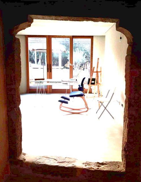 masia de piedra en girona