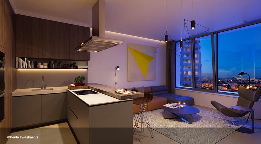 Jaga climatiza apartamentos diseñados Zaha Hadid en Bratislav