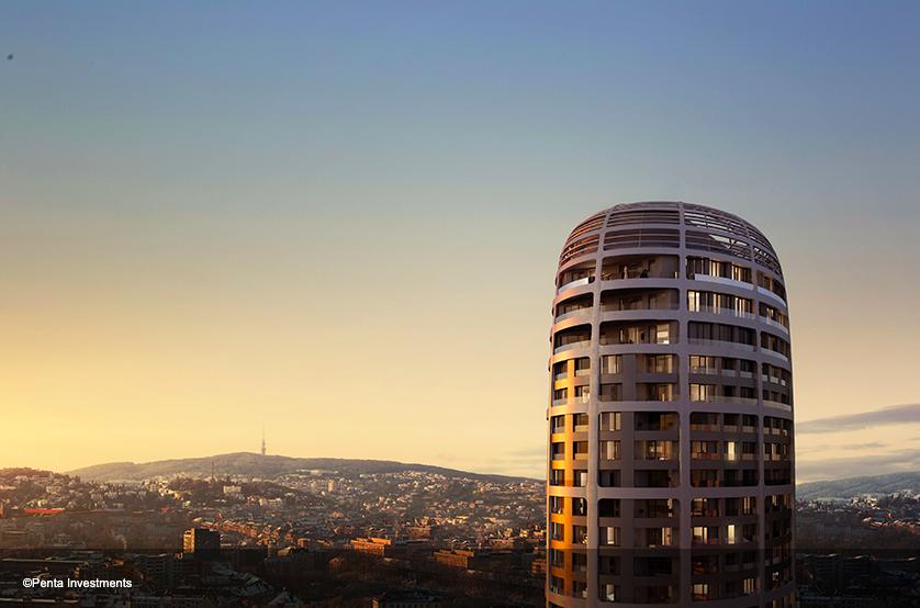 Jaga climatiza apartamentos diseñados Zaha Hadid en Bratislava