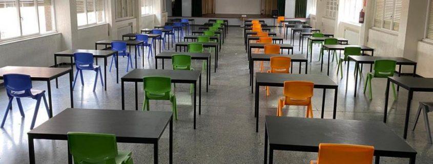 Jaga ventilacion y climatización en en colegios