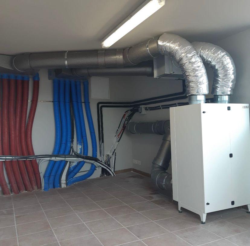 Jaga condutos sistema ventilacion